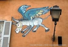 Flying Roman Donkey