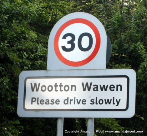 Watch out for the Wootton Wawen