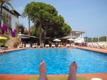 Feet in Spain