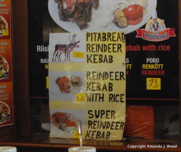 Naw, donairs r knot kebabs..eben super reindeer ones