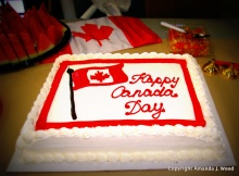 Every day is Canada day when you are far away