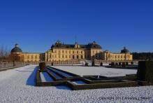 Drottningholm's back yard.