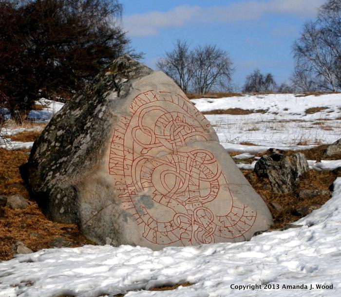 The Hacon Stone runestone from around 1070