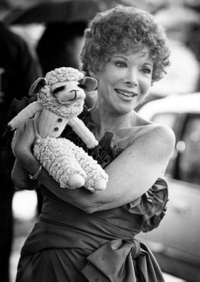 Shari Lewis and Lambchop.