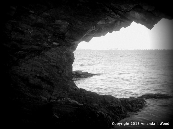 Sea cave at Ovens Natural Park