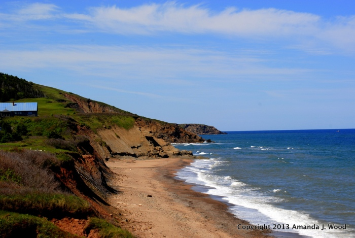 Ceilidh Trail, Cape Breton Island. Near Inverness