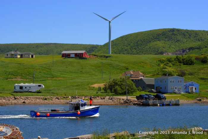 Grand Étang has windmill power