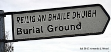Blog burial ground this way