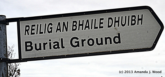 Blog burial ground this way