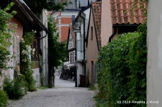 Visby is quiet the week after the annual Medieval Festival