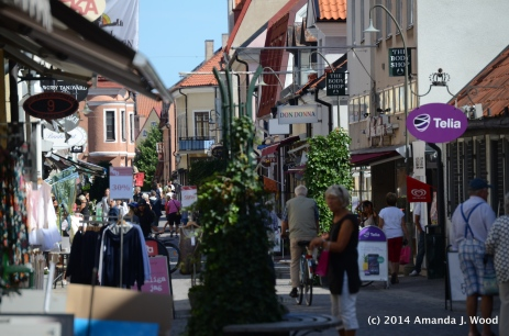 Shopping in Visby
